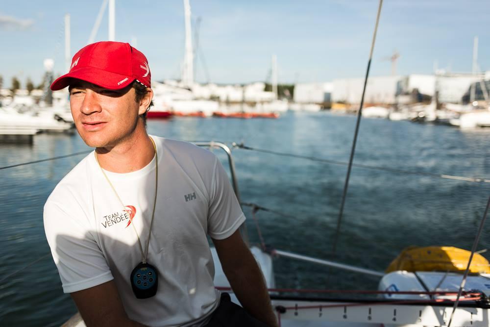 Skipper Benjamin Dutreux