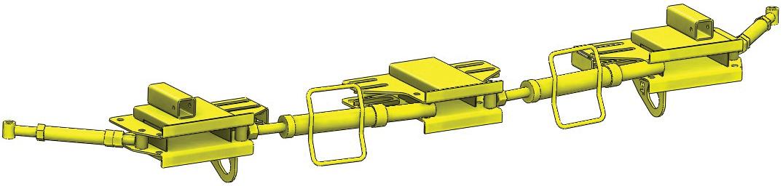 Un réglage du rayon optimisé avec boites et tendeurs de liaison et d'extrémité