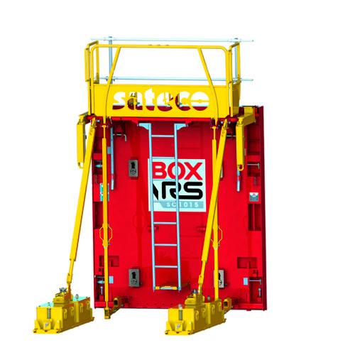 BANCHE SC 1015 BOX RS : Utilisation avec la stabilité standard