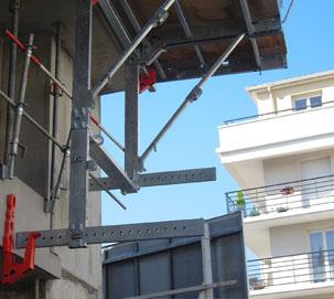 Ecarteur bas (débord 1.35m maxi)