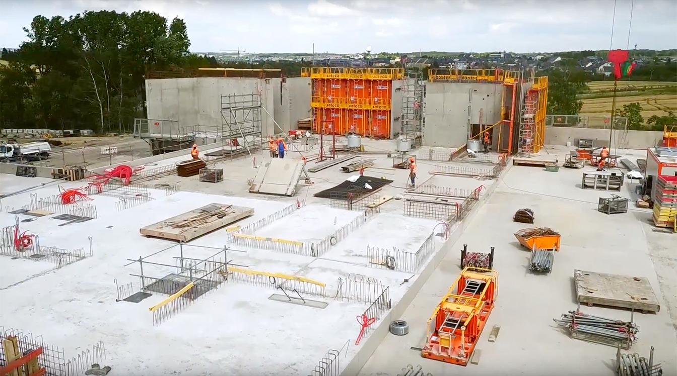vidéo construction lycée francophone banche sateco