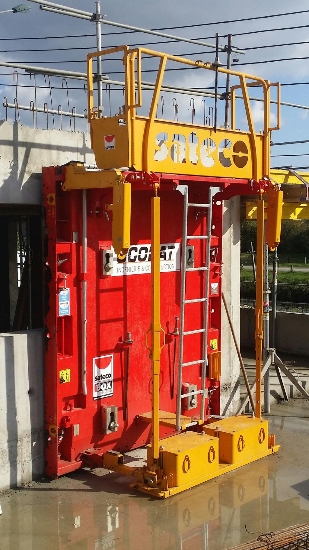 Banche SC 1015 BOX RS - CHANTIER SCOBAT