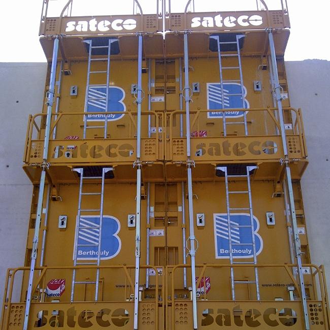 Banche SC 1015 BOX - CHANTIER BERTHOULY VALLON PONT D'ARC