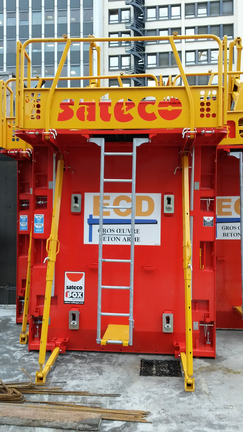 Banche SC 1015 BOX - CHANTIER ECD CLICHY