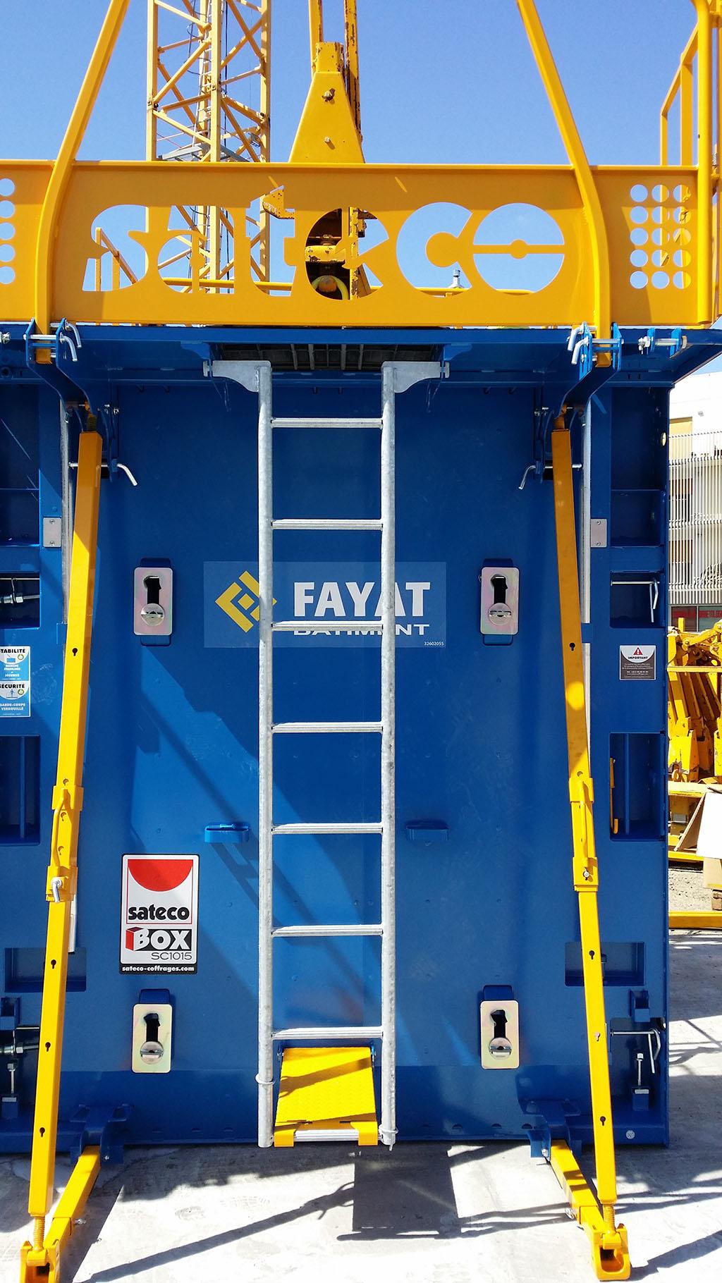 Banche SC 1015 BOX - CHANTIER SEG FAYAT BORDEAUX